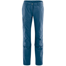 Maier Sports Fulda Pantaloni con zip Donna, ensign blue